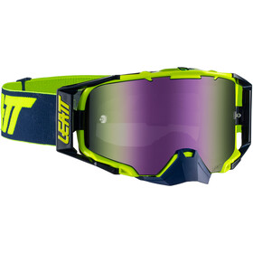 Leatt Velocity 6.5 Anti Fog Mirror Goggles ink/lime